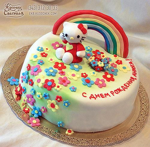 Рецепт тортов с мастикой на день рождения