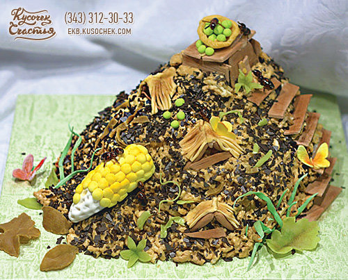 Сделать муравейник торт в домашних условиях