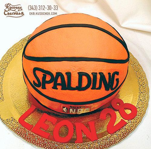 Торт для баскетболиста своими руками