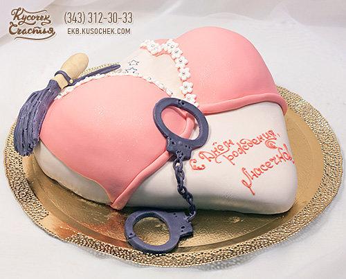 """Праздничный торт """"Декольте"""" - Заказать торт Екб"""