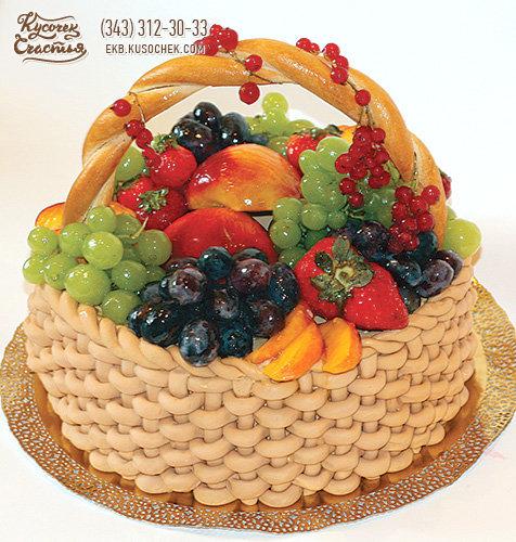 Торт на заказ спб с фруктами