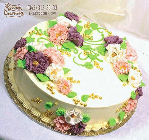 Оригинальные кремовые торты