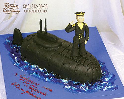 торт лодка своими руками