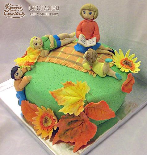 Торты в подарок детскому саду