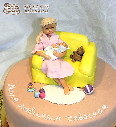 Оригинальный торт на день рождения женщине